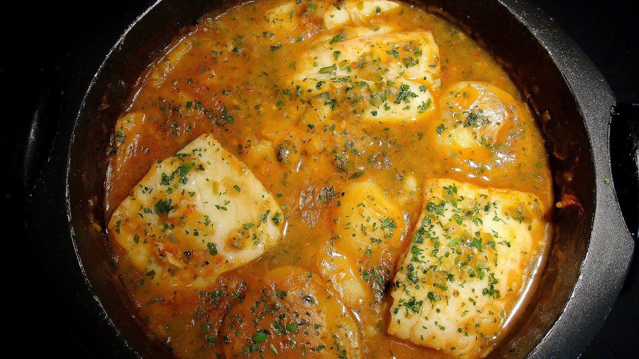 Guiso de bacalao con patatas youtube for Cocina bacalao con patatas