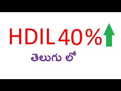 HDIL Reached 40 % return in just 3 months తెలుగు లో
