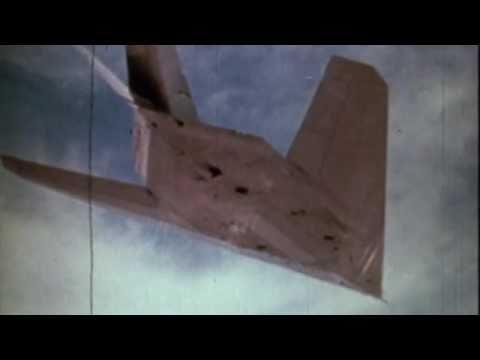 Lockheed Martin F-117 Nighthawk First Flight