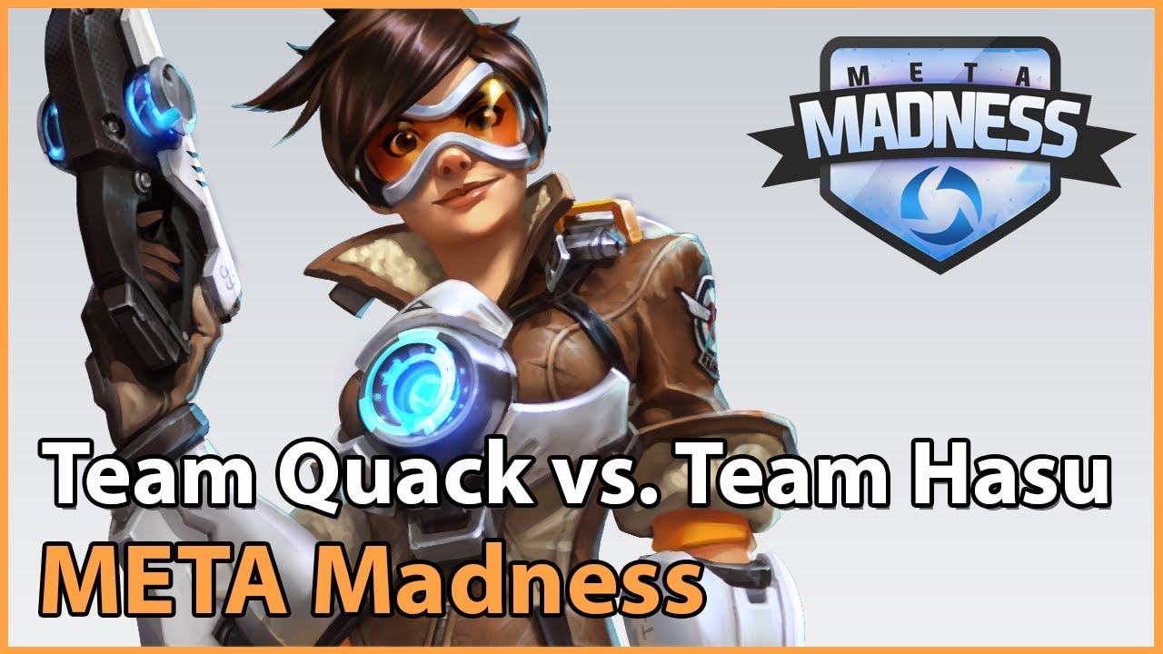 ► Team QuackNiix vs. Team HasuObs - META Madness Groupstage - Heroes of the Storm Esports
