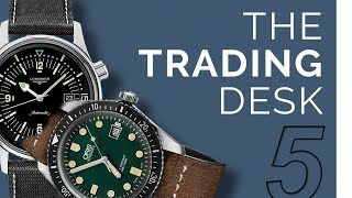 The Trading Desk | Vintage Inspired Dive Watches Under $2000