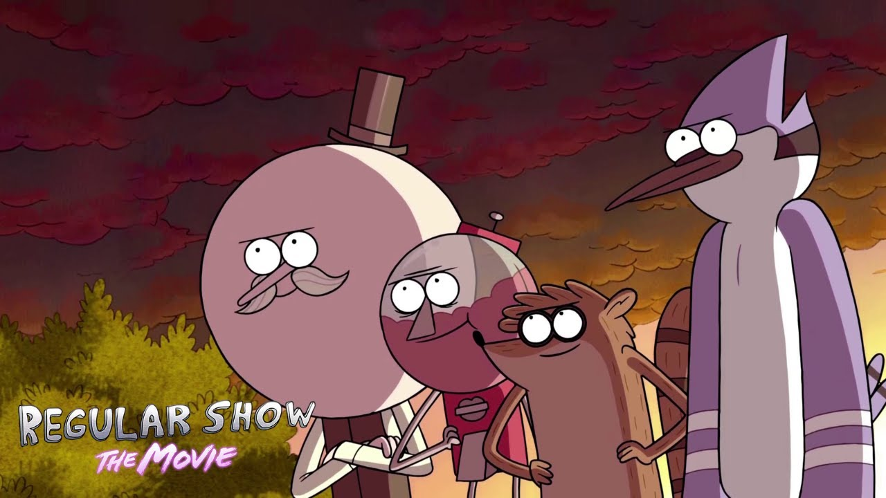 Download Regular Show - The Gang Celebrate Their Victory   Regular Show: The Movie
