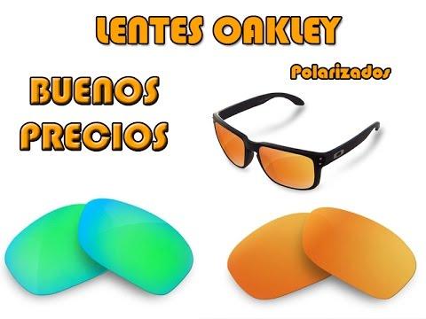 cristales para gafas oakley