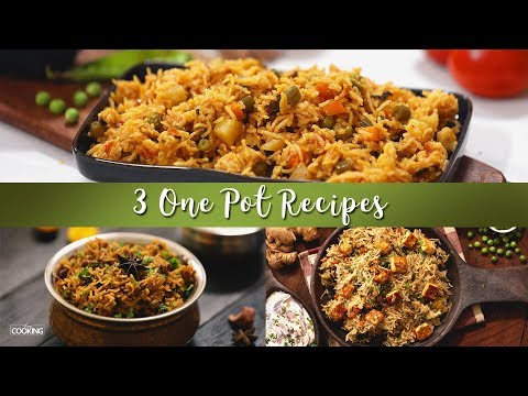 3 One Pot Recipes