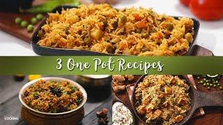 3 One Pot Recipes