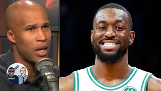 Kemba Walker is a better fit for the Celtics than Kyrie Irving - Richard Jefferson | Jalen & Jacoby