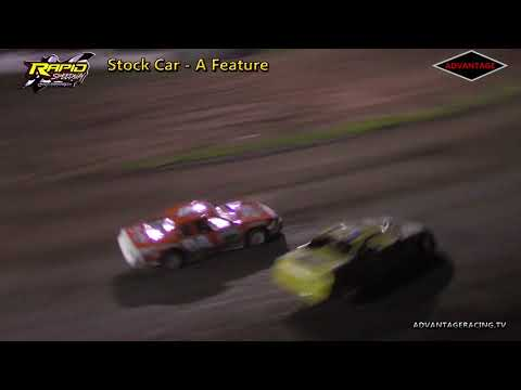 Stock Car Feature - Rapid Speedway - 6/15/18
