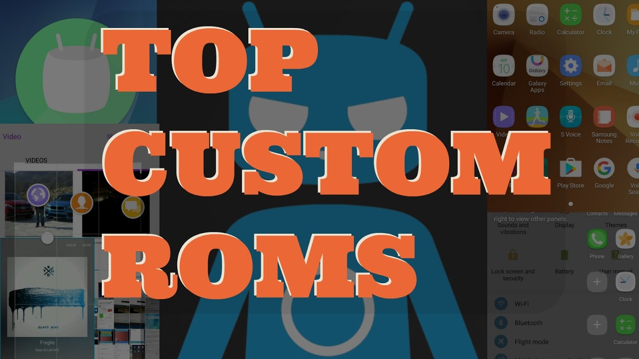 BEST Custom Roms (2017) - Samsung Galaxy J7