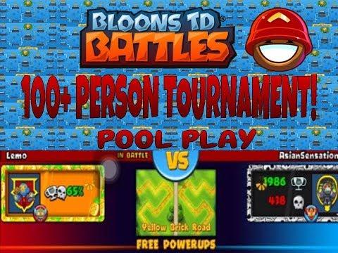 BTD Battles   Massive Tournament- Facing Lemo