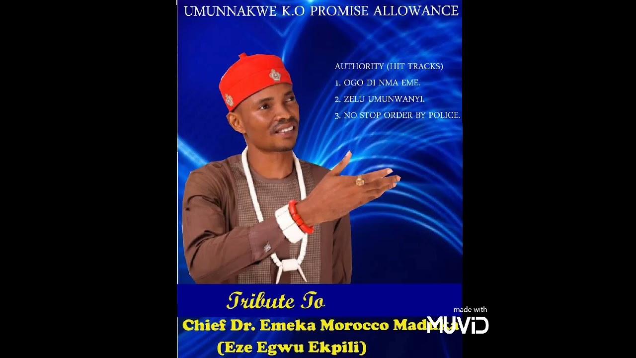 Download Allowance Tribute to Chief Dr. Emeka Morocco maduka