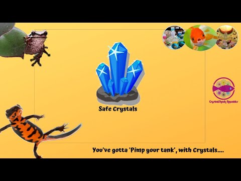 Aquarium Safe Crystals