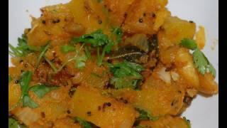 Pumpkin Masala - By Vahchef @ Vahrehvah.com