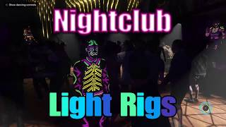 GTA V: All Nightclub Light Rigs Front/Back of House