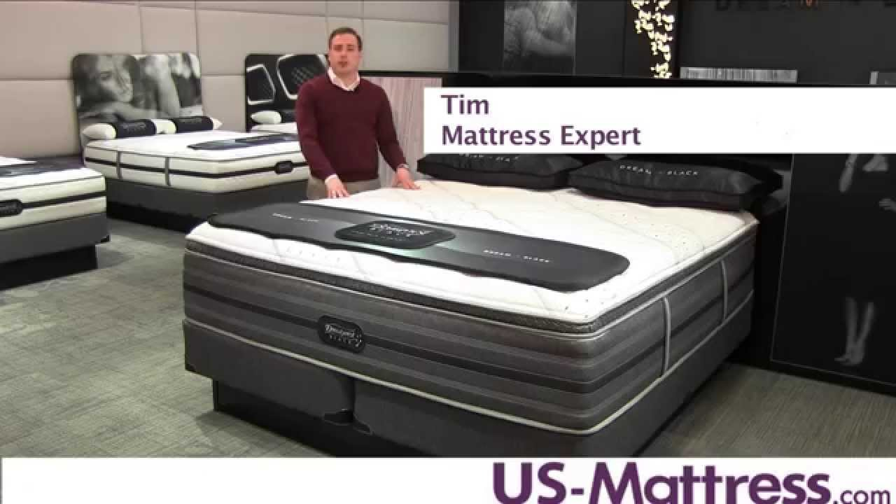simmons beautyrest black sidney ultra plush pillow top mattress