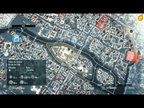 Assassins Creed Unity Unlock All Chests And Cockades