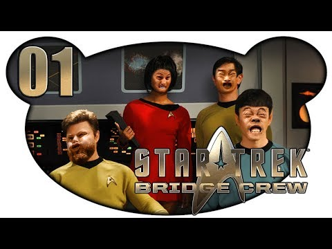 STAR TREK: BRIDGE CREW #01 – Und wieder prall im All (Let's Play Gameplay Deutsch)
