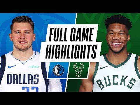 GAME RECAP: Mavericks 128, Bucks 112