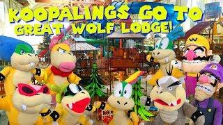 Koopalings go to Great Wolf Lodge!
