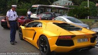 Police STOPS Noisy Lamborghini Aventador!