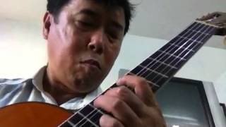 Nhớ về Hà nội guitar solo