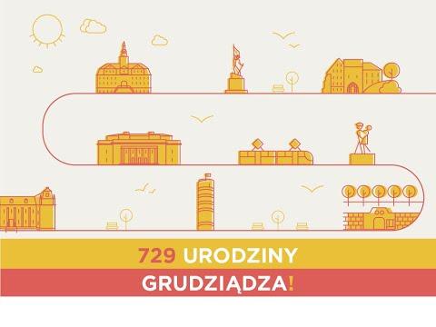 Życzenia z okazji 729. urodzin Grudziądza