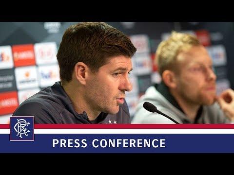 PRESS CONFERENCE | Steven Gerrard & Scott Arfield | 28 Nov 2018