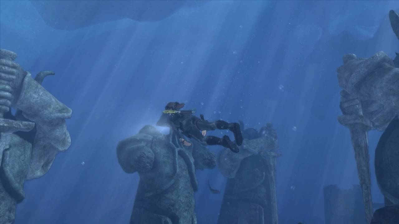 tomb raider underworld underwater