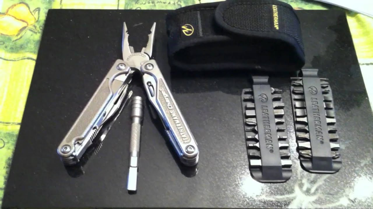 first look new leatherman charge tti bit extender kit. Black Bedroom Furniture Sets. Home Design Ideas