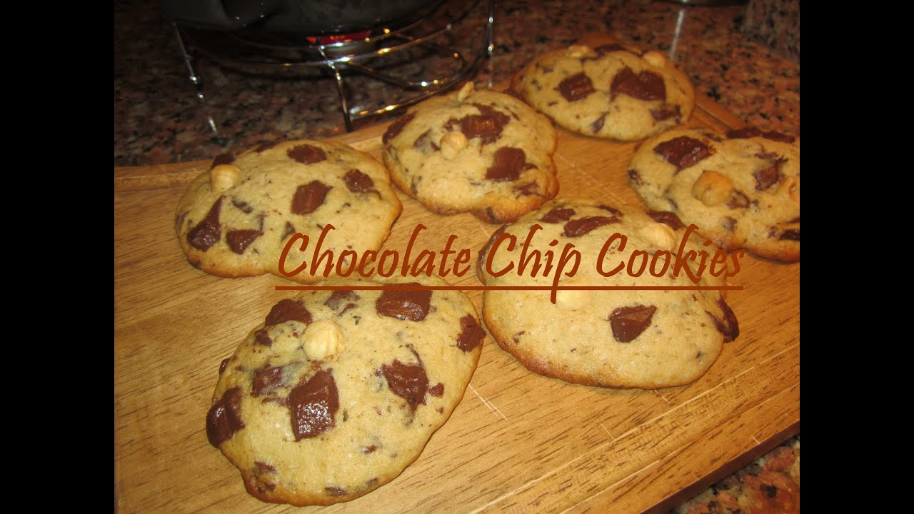chocolate chip cookies amerikanisch backen cookies selber machen youtube. Black Bedroom Furniture Sets. Home Design Ideas