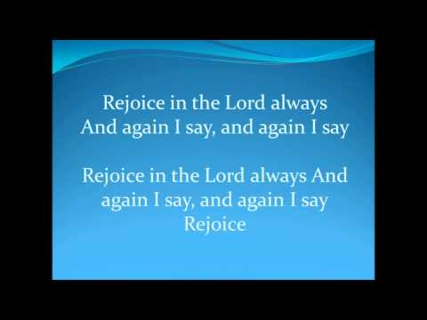 Again I Say Rejoice By Israel Houghton & New Breed with Lyrics