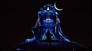 MahaShivratri 2019   Adiyogi 3D Light Show