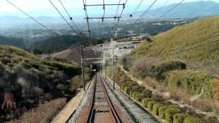 箱根十国峠ケーブルカー 前面展望