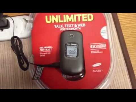 Verizon Pay As You Go Phone - YouTube