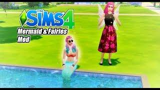 MEERJUNGFRAUEN UND FEEN IN SIMS 4 ! - Sims 4 Mod