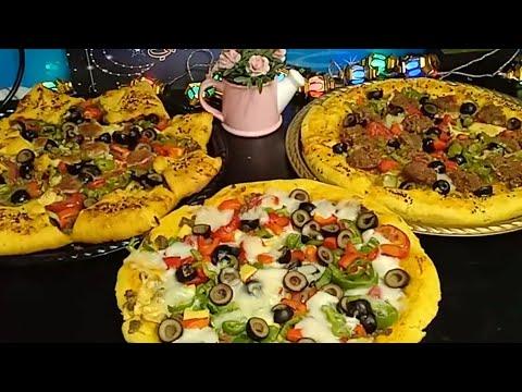 صورة  طريقة عمل البيتزا طريقه عمل البيتزا زاي المحلات بظبط وتحدي 💪👌 هبهركم يعني هبهركم هههههه ياحبايب قلب جيجي 😘💞💝 طريقة عمل البيتزا من يوتيوب