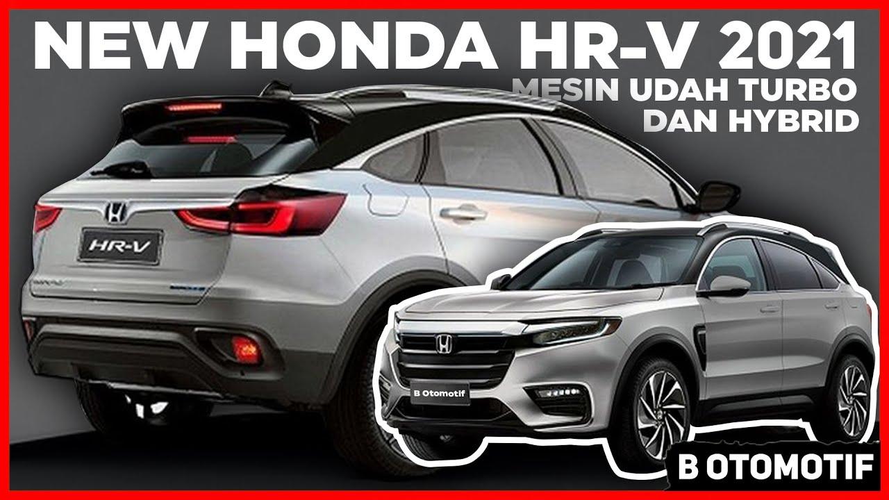 Honda HR-V 2021, Tample Beda dengan Mesin Turbo dan Udah Hybrid