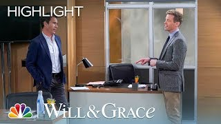 Will Finds Out His Crush Is Married - Will & Grace (Episode Highlight)