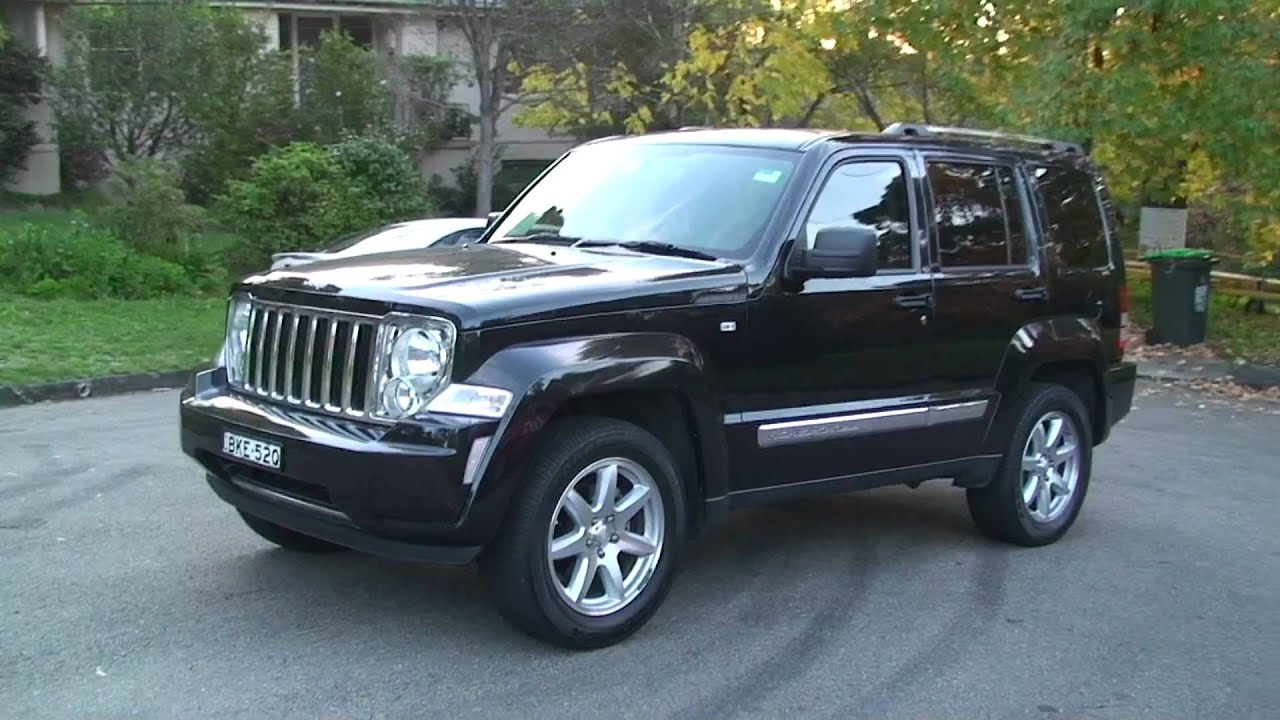 2008 jeep cherokee limited youtube. Black Bedroom Furniture Sets. Home Design Ideas