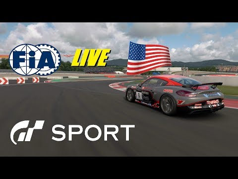 GT Sport FIA USA Account Live