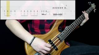 yes   roundabout bass cover play along tabs in video