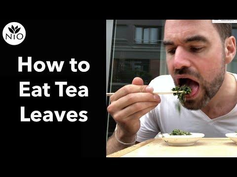 Eat Green Tea Edible Green Tea Explained Youtube
