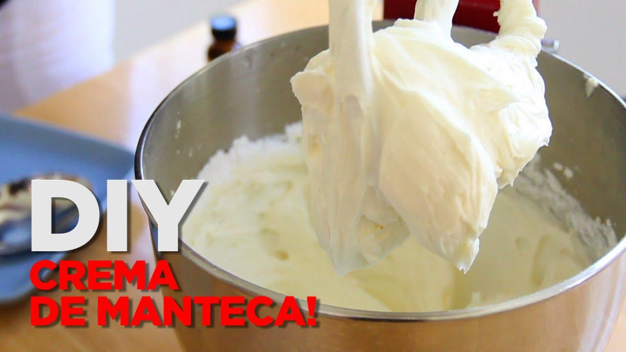 Crema De Mantequilla Buttercream Como Hacer Betún De Mantequilla Para Decorar Pasteles