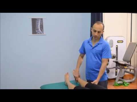 test di lachman per crociato anteriore del ginocchio