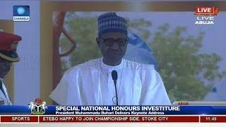 June 12: President Buhari Apologises To MKO Abiola's Family