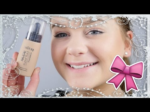 First impression/review ♥ Isadora nude super fluid foundation ♥ English subtitles