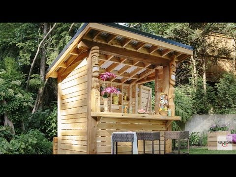 Diy How To Build A Tiki Bar Realcedar