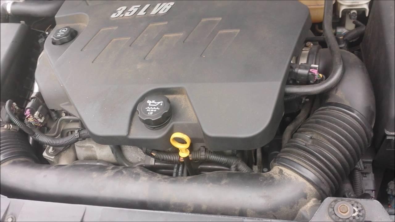 2008 Pontiac G6 Starter Location
