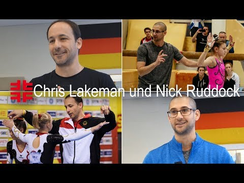 Gymnastic coaches about their job in Germany I Chris Lakeman and Nick Ruddock