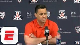 [FULL] Arizona head coach Sean Miller doubles down on denial of allegations | ESPN