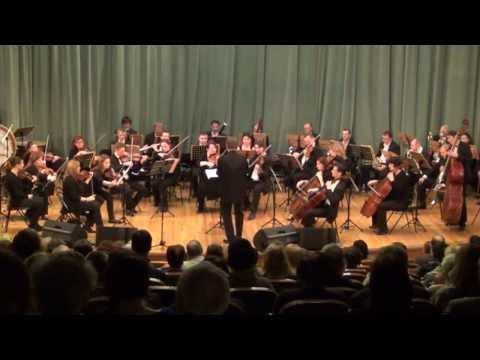 Conductor Roman Leontiev conducts Mozart, Rossini, Verdi 2013.12.14